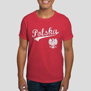 Polska Baseball Style Dark T-Shirt