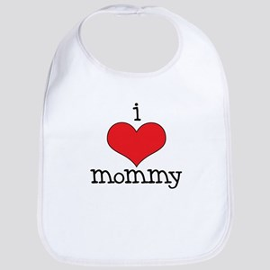 I Love Mommy Bib