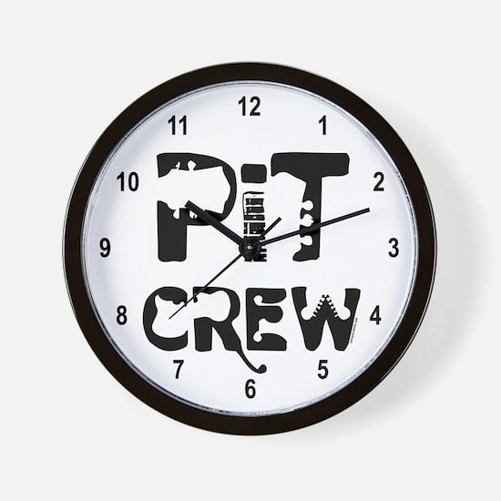 Band Pit Crew Wall Clock