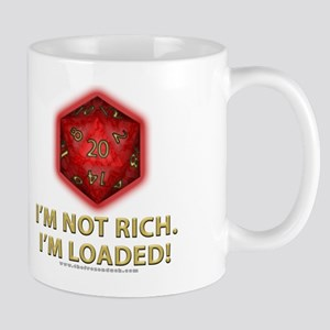 Loaded D20 (Red) Mug