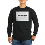 Most Loved Savior(TM) Long Sleeve Dark T-Shirt