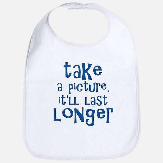 Take a Picture - Blue Bib