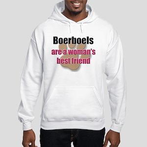 Boerboels woman's best friend Hooded Sweatshirt