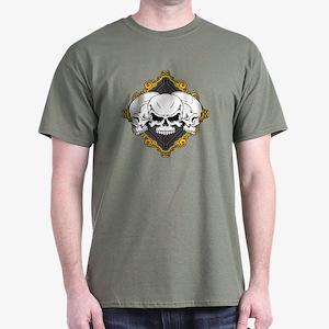 Skulls in Frame Dark T-Shirt