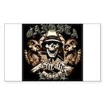 Gangsta Love Rectangle Sticker 50 pk)