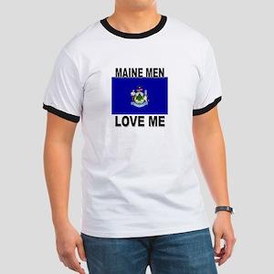 Maine Loves Me Ringer T