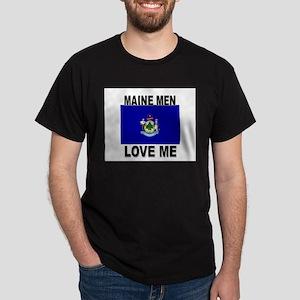 Maine Loves Me Dark T-Shirt