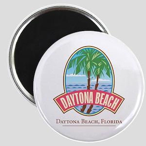 Retro Daytona Beach - Magnet