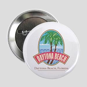 "Retro Daytona Beach - 2.25"" Button"