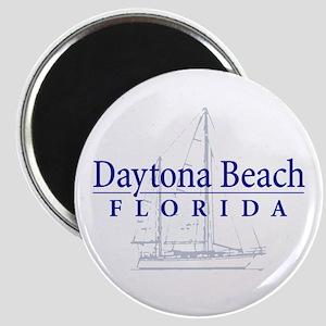 Daytona Beach Sailboat - Magnet