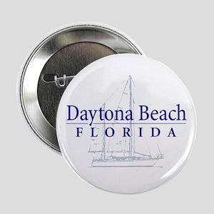 """Daytona Beach Sailboat - 2.25"""" Button"""