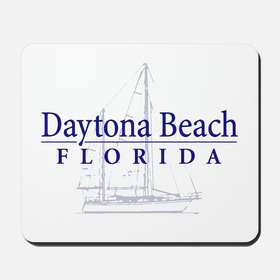 Daytona Beach Sailboat - Mousepad