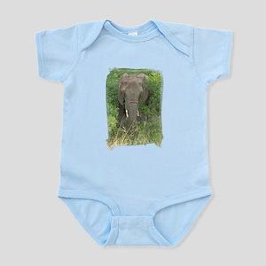 Elephant in Bush Infant Bodysuit