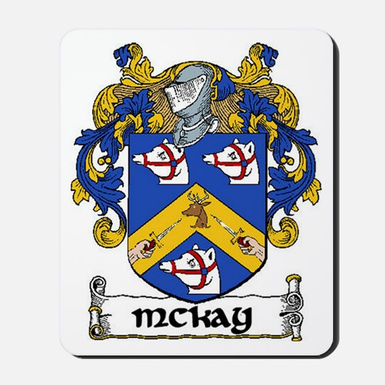 McKay Coat of Arms Mousepad