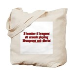 Dragons Play Dungeons And Ner Tote Bag