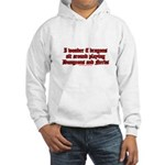 Dragons Play Dungeons And Ner Hooded Sweatshirt