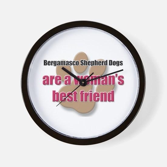 Bergamasco Shepherd Dogs woman's best friend Wall