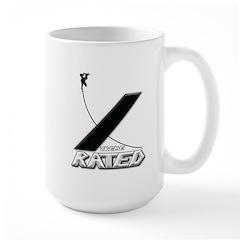 Xtreme Rated-Skateboarding Large Mug
