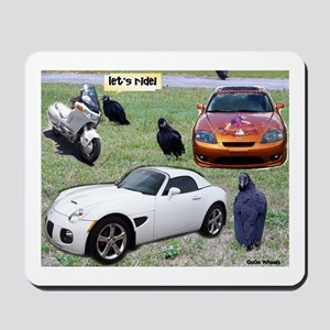Let's Ride Mousepad