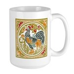 Country Rooster Large Mug