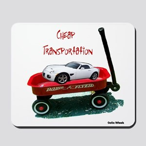 Cheap Transportation Mousepad