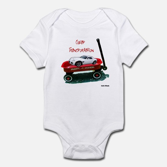 Cheap Transportation Infant Bodysuit