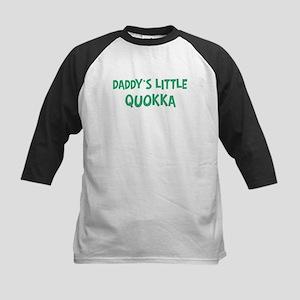 Daddys little Quokka Kids Baseball Jersey