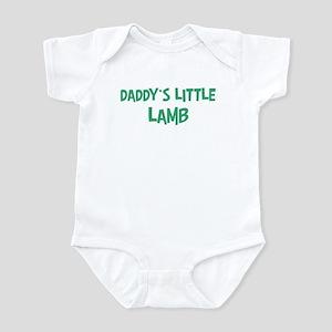 Daddys little Lamb Infant Bodysuit