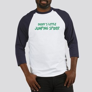 Daddys little Jumping Spider Baseball Jersey