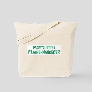 Daddys little Plains-Wanderer Tote Bag