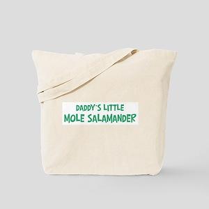 Daddys little Mole Salamander Tote Bag