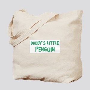 Daddys little Penguin Tote Bag