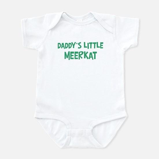 Daddys little Meerkat Infant Bodysuit