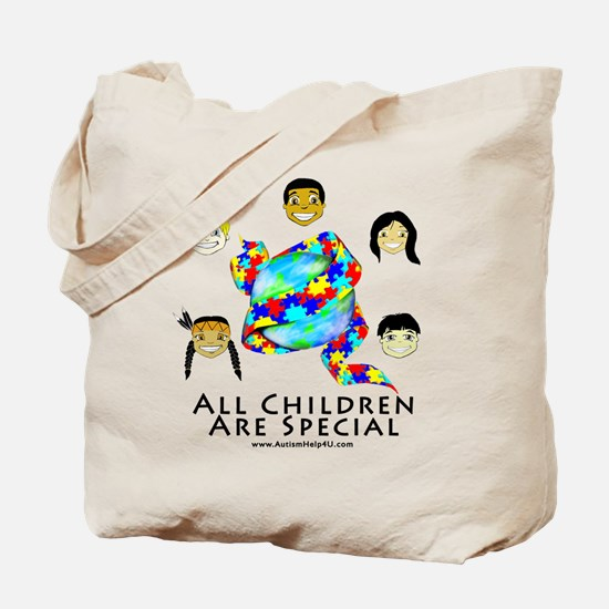 All Children Are Special Tote Bag