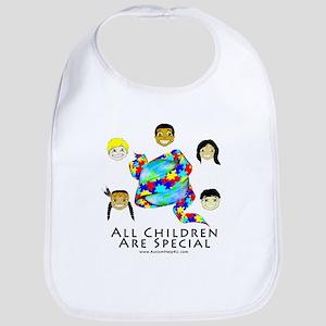 All Children Are Special Bib