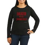 Death_2_Immortals Women's Long Sleeve Dark T-Shirt