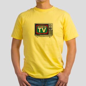 As seen on TV yellow tee