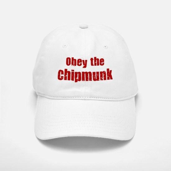 Obey the Chipmunk Baseball Baseball Cap