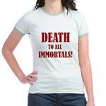 Death_2_Immortals Jr. Ringer T-Shirt