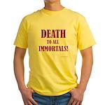 Death_2_Immortals Yellow T-Shirt