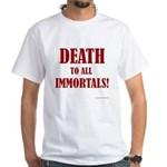 Death_2_Immortals White T-Shirt