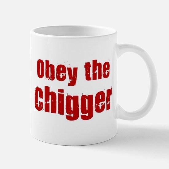 Obey the Chigger Mug