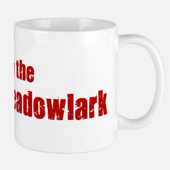 Obey the Eastern Meadowlark Mug