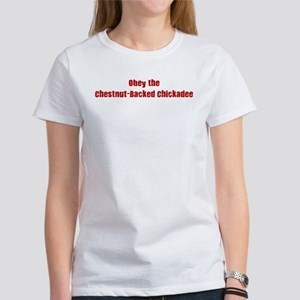 Obey the Chestnut-Backed Chic Women's T-Shirt