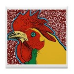 Bright Rooster Tile Coaster