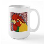 Bright Rooster Large Mug