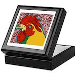Bright Rooster Keepsake Box