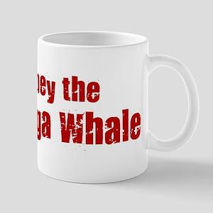 Obey the Beluga Whale Mug