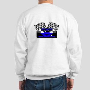 ROYAL BLUE RACE CAR Sweatshirt