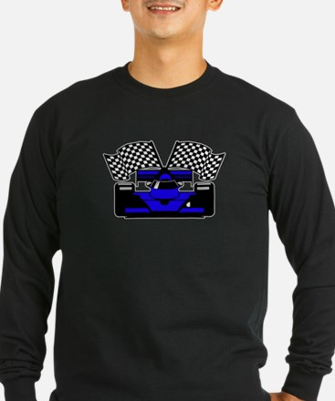 ROYAL BLUE RACE CAR T